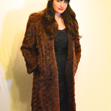 "Stunning Vintage Fur Coat by ""Kahn's Oakland"""