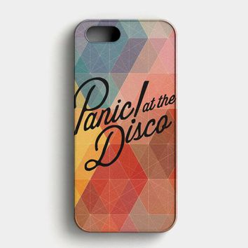 Panic At The Disco Flowers iPhone SE Case