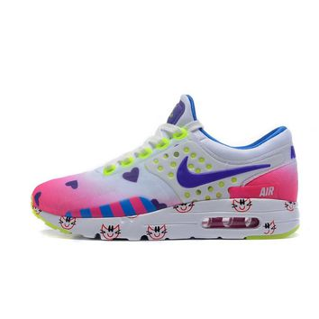 Best Deal Online Nike Air Max 87 Zero QS ESSENTIAL Army Green White Multi Running Shoes Women Sport Shoes