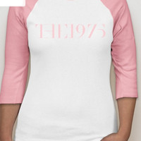 The 1975 Pink Raglan Shirt