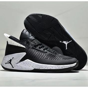 AIR JORDAN Fly Lockdown PFX Wear resistant basketball shoes