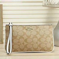 COACH Fashion New Pattern Print Women Leisure Handbag Wallet Purse