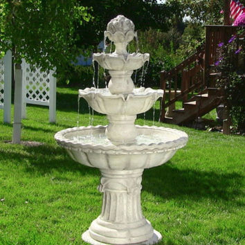 Best Outdoor Yard Fountains Products on Wanelo