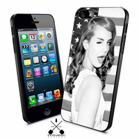 lana del rey american flag iPhone 4s iphone 5 iphone 5s iphone 6 case, Samsung s3 samsung s4 samsung s5 note 3 note 4 case, iPod 4 5 Case