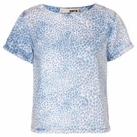 MOTO Tencel Leopard T-Shirt - Multi