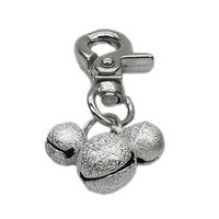 Bell Collar Charm — Silver