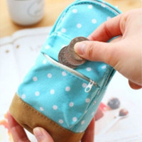 NeW Style Students Schoolbag Pen Case Canvas Pencil Case Children Pen  Mini Bag [8081693447]