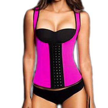Women Wast Trainer Corset Women's Neoprene Body Shaper Slimming Fitness Waist Slim Belt Vest Underbust Wedding Party Shapers Top