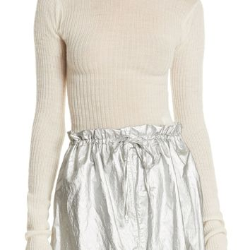 MM6 Maison Margiela Lettuce Edge Wool Sweater | Nordstrom