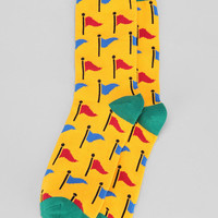 Flags Sock - Urban Outfitters