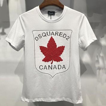 Brand:dsquared  Gender: Unisex Color:blackwhitered  Season: Spring Summer Autumn  Style: Sport Casual  Material: Cotton