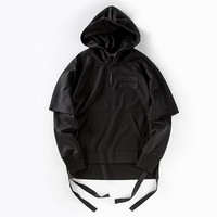 Indie Designs Fear of God Inspired Double Sleeves Full Zip Hoodie