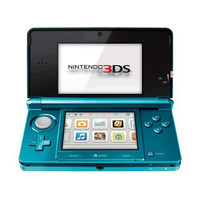 Nintendo 3DS Aqua Blue - Nintendo 3DS (Pre-owned)