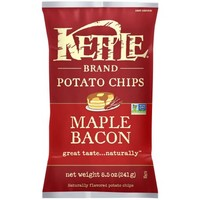 Kettle Brand Potato Chips, Maple Bacon, 8.5 Oz - Walmart.com