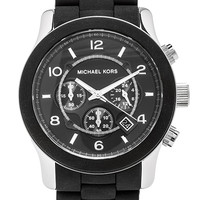 Michael Kors Runway Watch in Black