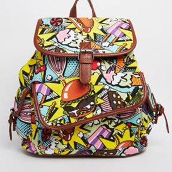 Daisy Street Comic Backpack
