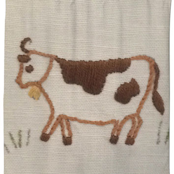 Country Cow Shower Curtain