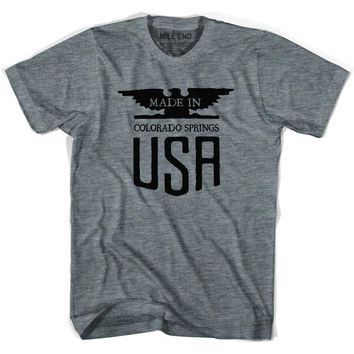 Made In USA Colorado Vintage Eagle T-shirt-Adult
