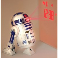 Star Wars Merchandise - R2D2 LED Alarm Clock