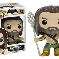 Funko Pop Heroes: Batman v Superman - Aquaman Vinyl Figure
