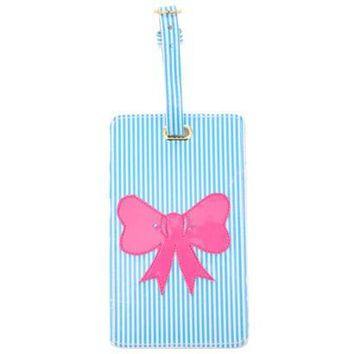 LoloBag - Luggage Tag | Pink Bow