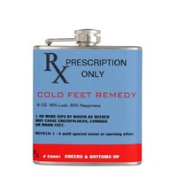 RX Cold Feet Remedy Flask