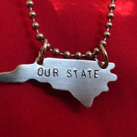 NCSU - Our State Necklace - North Carolina