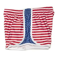 Pi Beta Phi Shorts in Red, White and Blue by Krass & Co. - FINAL SALE