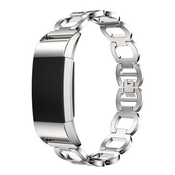 Fashion Sturdy and Durable Genuine Stainless Steel Bracelet Smart Watch Band Strap For Fitbit Charge 2 Dec16