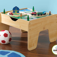 Natural Activity Table with Lego Board