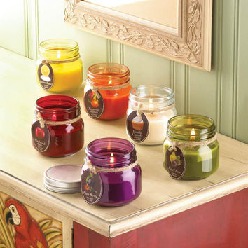 Candle Jars- Highly Scented Mason Canning Jars with Lid