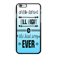 One Direction Lyrics Best Song iPhone 6 Plus Case