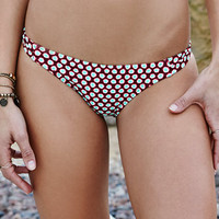 Eidon Adoria Mila Polka Dot Skimpy Bikini Bottom at PacSun.com