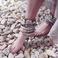 DIY Shell Bracelet From Honestly WTF - Free People Blog