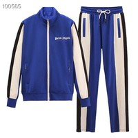 Top Gift 2019 New Winter coat Men and Women Fashion Leisure Tracksuit Two Piece Suit Set