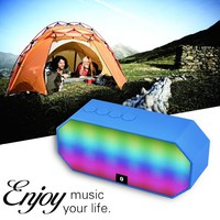Ecandy Portable Wireless Bluetooth Speaker with Led