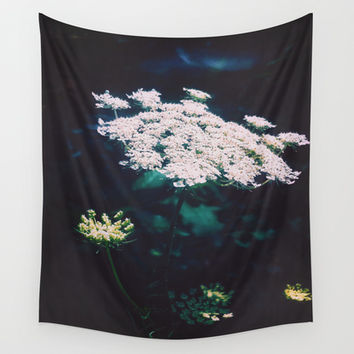 Anne's Lace Wall Tapestry by DuckyB (Brandi)