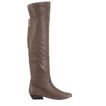 ESBONIG Chinese Laundry Tally-Ho- Taupe Over-the Knee Boot