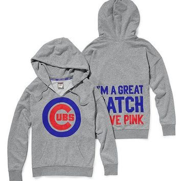 Chicago Cubs Slouchy Hoodie