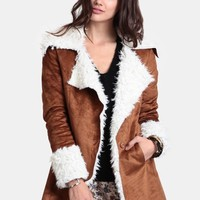 Arctic Chill Faux Fur Coat