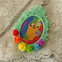 Adventure Time - Jake The Dog - Rainbow Necklace