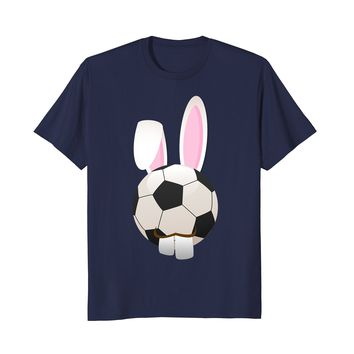 Funny Football Soccer Bunny Easter Decorations 2018 Shirt