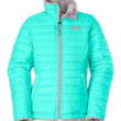 The North Face Girls' Jackets & Vests GIRLS' REVERSIBLE MOSSBUD SWIRL JACKET