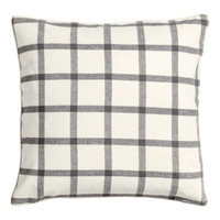 H&M - Checked Cushion Cover