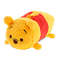 Winnie the Pooh ''Tsum Tsum'' Plush Pencil Case