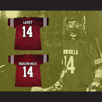 Isaac Lahey 14 Beacon Hills Lacrosse Jersey Teen Wolf TV Series