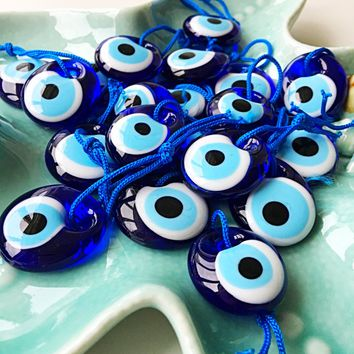 20 pcs nazar boncuk, evil eye beads, wedding favors for guests, nazar boncuk beads