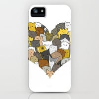 I Love Cats iPhone Case by Brittany Metz | Society6