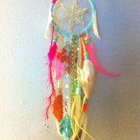 CUSTOM ORDER 3 inch Dreamcatcher similar to by CosmicAmerican