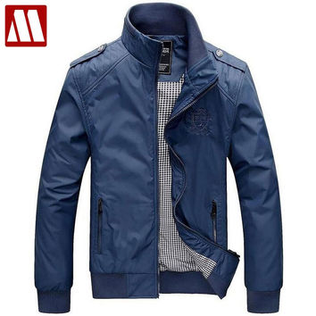 Factory Fashion Clothes Men's Jackets Polo Jacket for man Epaulet Windcheater Military Clothing